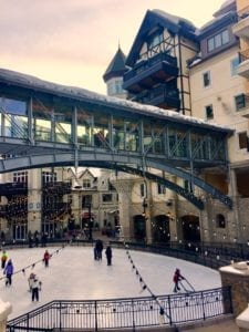 Alderhof Ice Rink in Vail, CO