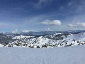 View from the Slopes at Northstar in Tahoe