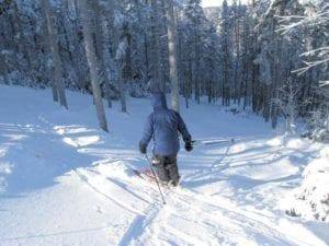 Maine Huts Ski Trip