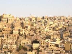 The architecture of Amman, Jordan