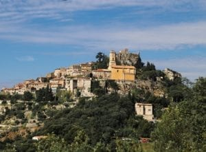 The French Rivera in the South of France