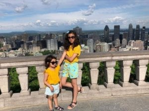 Montreal kids family vacation