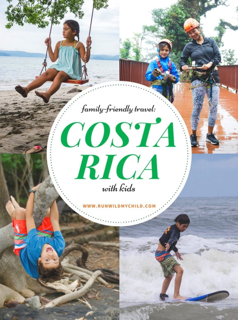 Collage - Costa Rica with Kids by Run Wild My Child