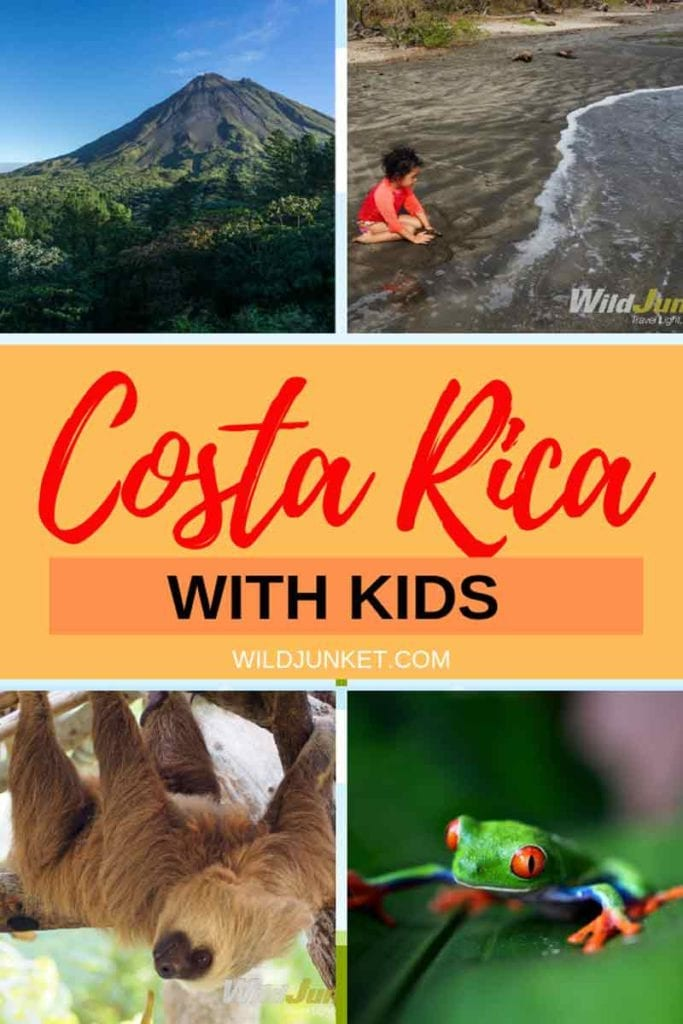 Costa Rica with Kids banner