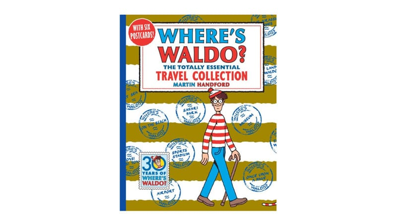 Where's Waldo? The Totally Essential Travel Collection Book Cover- Top Travel Books for Little Kids