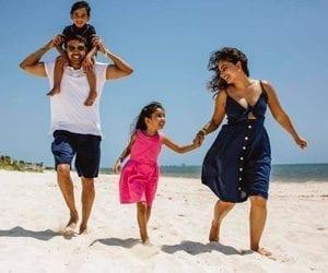 Family Beach Travel Photo