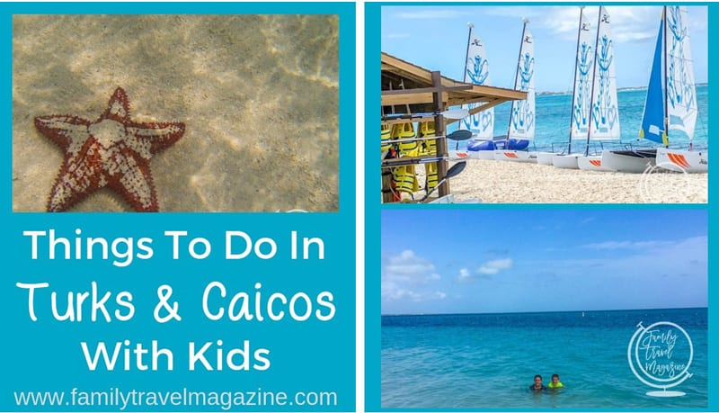 """Website snapshot-Family Travel Magazine's """"Things to Do in Turks and Caicos with Kids"""""""